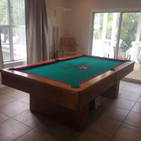 Tampa Bay Bucs Pool Table