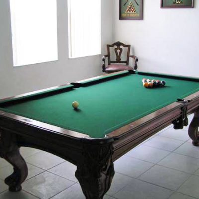 8' Pool Billiard Table & Accessories