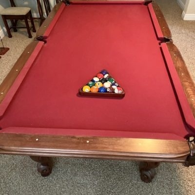 Craftmaster custom pool table