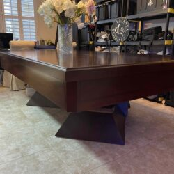 Mahogany 8ft Custom Dining Table/Pool Table